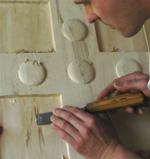 Produkcja herbu rzeźbionego